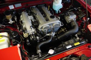 MK1 Mazda MX5 Engine bay